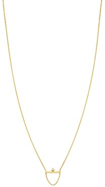 Zoë Chicco 14K Yellow Gold Diamond Bar Chain Necklace, 18