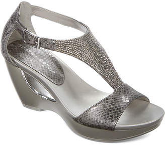 Andrew Geller Womens Arana Wedge Sandals