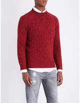 Brunello Cucinelli Flecked Cable-knit Jumper