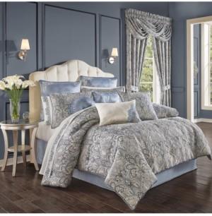 J Queen New York Alexis California King 4Pc. Comforter Set Bedding