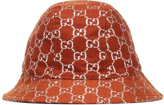 Gucci GG lame wool-blend bucket hat