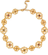 Ben-Amun Gold-Plated Crystal And Bead Necklace