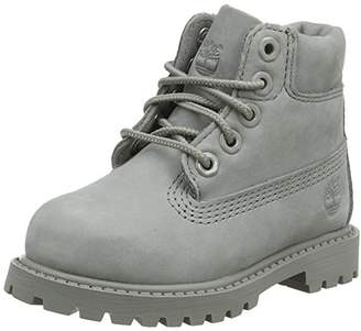 Timberland 6 In Classic Boot, Unisex Kids' Ankle Boots Classic Boots, Grey (Grey Monochromatic 65), (26.5 EU)