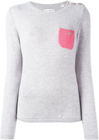 Chinti and Parker cashmere pocket jumper - women - Cashmere - XS