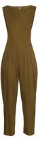 YOHJI YAMAMOTO REGULATION Sleeveless cotton-twill jumpsuit