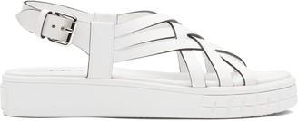 Prada Strappy 30mm Flatform Sandals