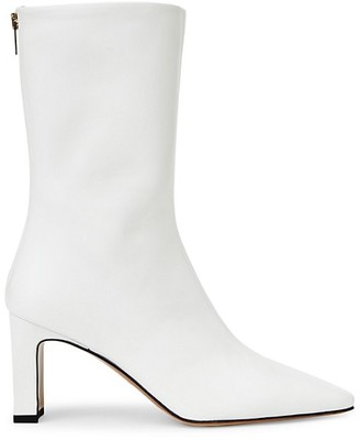 Lafayette 148 New York Anna Leather Ankle Boots
