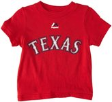 Majestic Infant Fielder Player N&N Tee SS - Texas Rangers - 24M