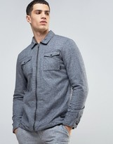 Esprit Shirt Jacket in Brushed Cotton