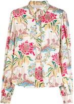 Peter Pilotto floral print shirt