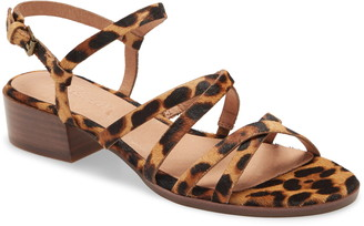 Madewell Edie Genuine Calf Hair Sandal
