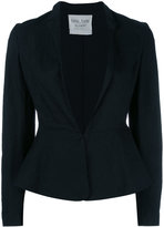 Forte Forte stylised blazer - women - Cotton/Linen/Flax - 2