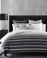Hotel Collection Colonnade Dusk Twin Duvet Cover