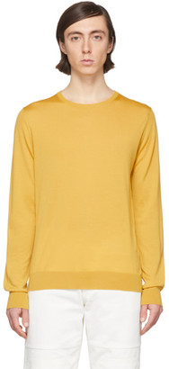 Lanvin Yellow Wool Sweater