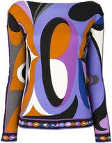 Emilio Pucci printed top - women - Rayon/Silk - 40