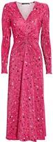 Rotate by Birger Christensen No. 7 Floral Plisse Dress