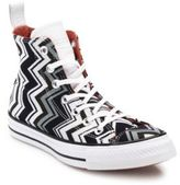 Converse Chuck Taylor Missoni Chevron-Print High-Top Sneakers