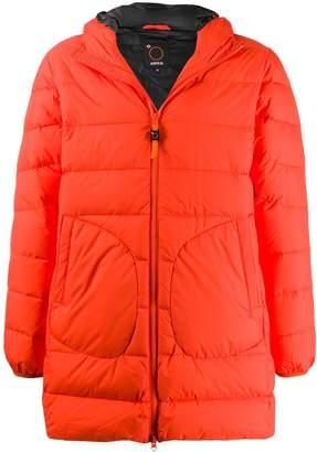 Aspesi padded hooded coat