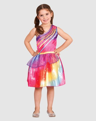 Rubie's Deerfield - Girl's Pink Costumes - Barbie Dreamtopia Costume - Kids - Size 4-6YRS at The Iconic