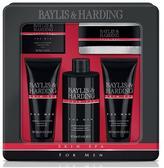 Baylis & Harding Mens Skin Spa Tin Gift Set