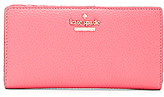 Kate Spade Stacy Wallet in Coral.