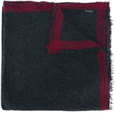 Faliero Sarti striped trim scarf