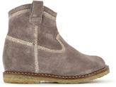 Pom D'Api Suzet Suede & Glitter Boots