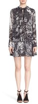 Just Cavalli 'Tattoo' Print Drop Waist Dress