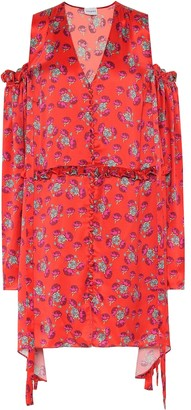 Magda Butrym Trento floral silk dress