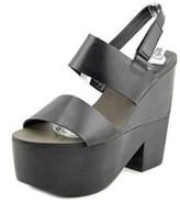 Shellys London Valbruna Women Open Toe Leather Platform Sandal.