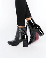 Tommy Hilfiger Gigi Hadid Elastic Heeled Ankle Boots