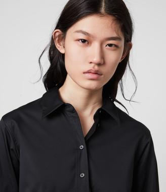 AllSaints Iris Lace Shirt Dres