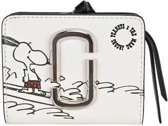Marc Jacobs X Peanuts Snoopy Print Mini Compact Wallet