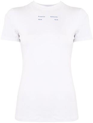 Proenza Schouler White Label logo-print T-shirt