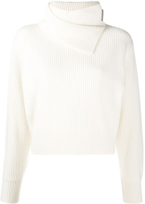 Brunello Cucinelli Roll-Neck Cashmere Jumper