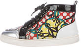 Christian Louboutin Louis Orlato High-Top Sneakers