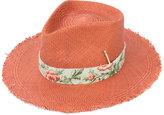 Nick Fouquet - straw hat - men - Straw - S
