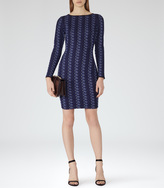 Reiss Avril CROCHET BODYCON DRESS