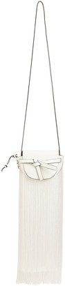 Loewe Gate Mini Grained Leather & Fringes Bag