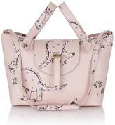 Meli-Melo Thela Medium Tote Bag Pink Shoko