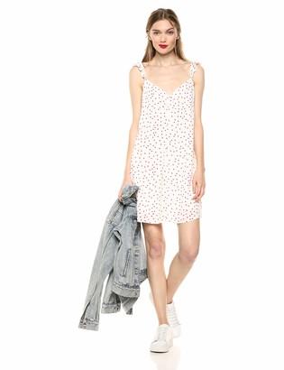 BB Dakota Junior's Stars Align Printed Dress Ivory 4