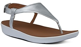FitFlop Women's Lainey Slingback Thong Wedge Sandals