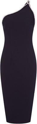 Safiyaa M'O Exclusive Elea Stretch-Crepe Cocktail Dress
