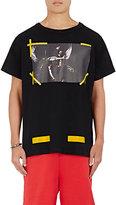 Off-White Men's Angel & Monk Cotton T-Shirt-BLACK