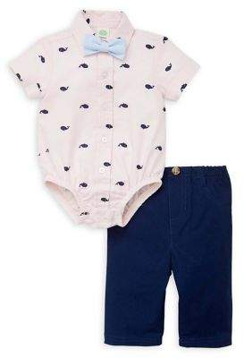 Little Me Baby Boy's 2-Piece Bodysuit & Pants Set