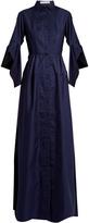 Palmer Harding PALMER/HARDING Flounce-sleeve cotton dress