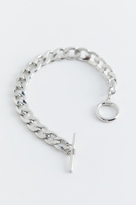 Curb Chain Toggle Bracelet