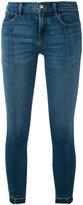 J Brand cropped skinny jeans - women - Cotton/Polyurethane - 26