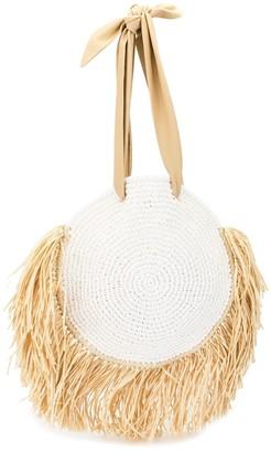 0711 Tulum round woven bag