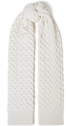 Rag & Bone Cable-knit Merino Wool-blend Scarf
